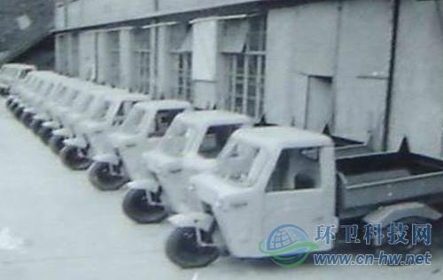 上世纪六、七十年代,上海垃圾、粪便运输机械化的进程