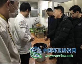 北京怀柔区城市管理委带队检查垃圾分类工作