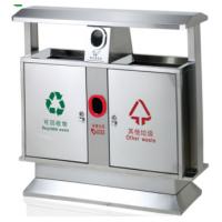 厂家直销不锈钢垃圾桶户外分类环保公园垃圾箱方形酒店垃圾桶定制