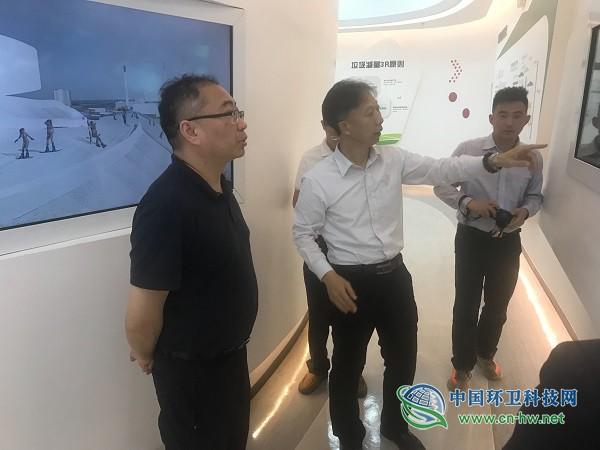 住建部城建司杨宏毅处长考察调研深圳垃圾分类及垃圾处理工作