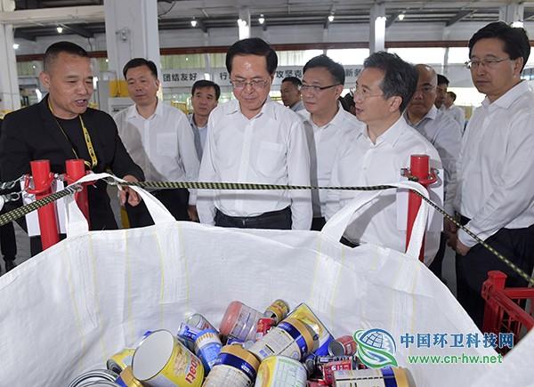 浙江省委书记车俊强调:下大力气来一场垃圾革命