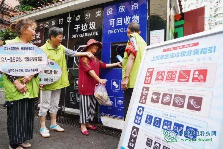 靠墙想想,上海人搞垃圾分类那是非成不可啊!