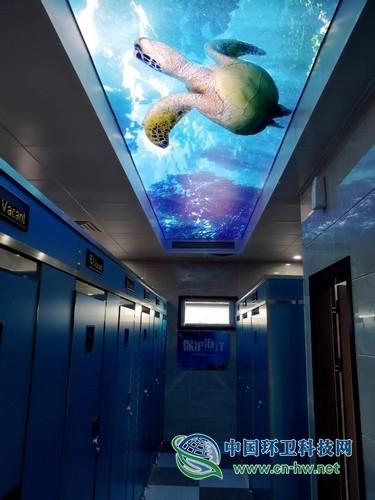 什么神仙公厕!烟台这座多功能海洋文化主题公厕美翻了