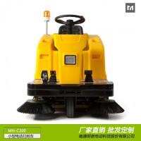 厂家供应明诺工业电动扫地车 三轮驾驶式扫地车批发