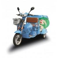三轮保洁车电动环卫小型单人垃圾收集转运车
