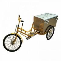 不锈钢保洁三轮车环卫车