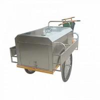 不锈钢保洁三轮车