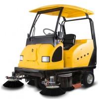 明诺驾驶式电动扫地车 西安小区物业用水泥地面清扫机