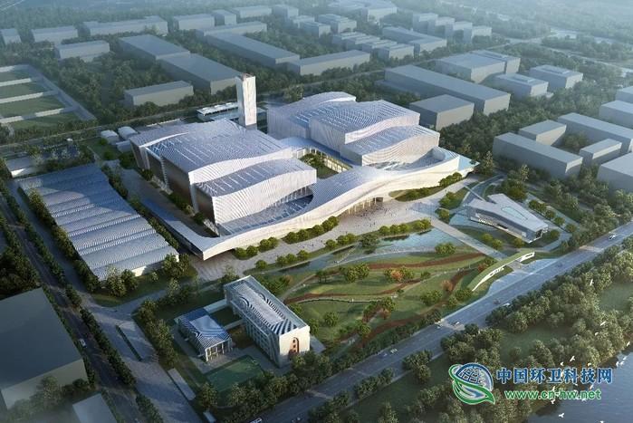 亚洲规模第二大的垃圾焚烧厂,长什么样子?