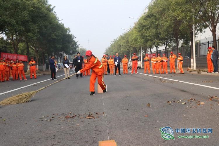 济源市第六届职工职业技能竞赛---人工清扫比赛成功举办
