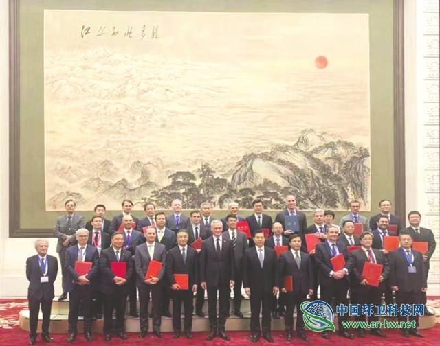 与法企签订合作协议 康恒环境亮相中法经济峰会