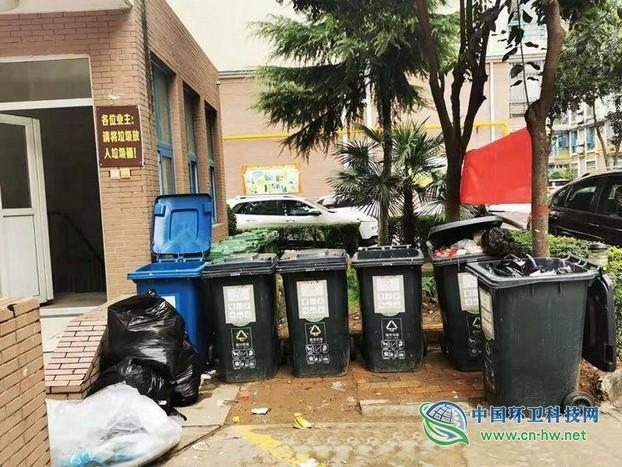 西安实施垃圾分类两月有余 这些分类乱象依旧存在