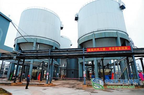 处理量增至450吨/日,南宁餐厨垃圾处理改扩建项目投产