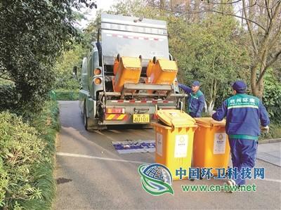 他们坚守垃圾清运岗位 悉心守护杭州整洁