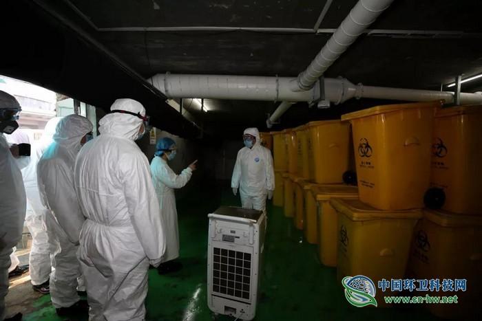 江苏省生态环境厅厅长带队检查医疗废物处置工作