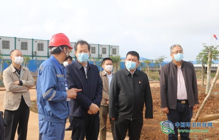 海南省副省长冯忠华调研海口生活垃圾焚烧发电厂三期 力争下周复工