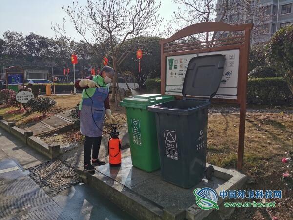 台州市黄岩区做好疫情防护工作 推动垃圾分类企业复工复岗