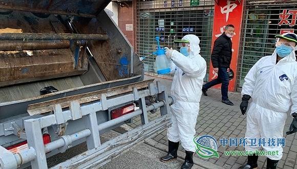 疫情下的上海垃圾收运