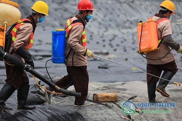 深圳市宝安区搭建隔离区垃圾处理全流程链条