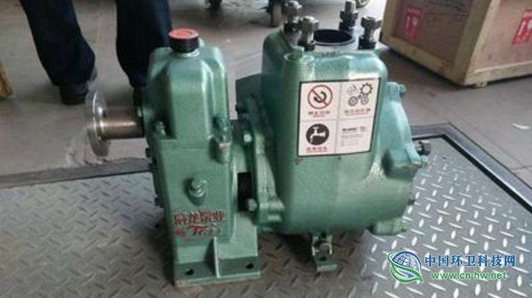 洗扫车高压水泵3大常见故障如何排除?
