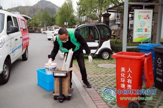 """温州设立""""上门收集日""""定时定点收运有害垃圾"""