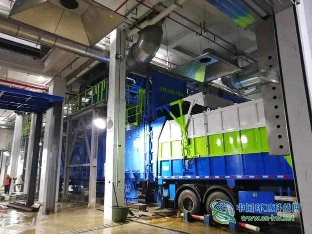 揭秘 | 国内首个超大型湿垃圾转运站