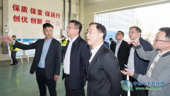 苏州市吴中区领导现场调研区垃圾分类工作