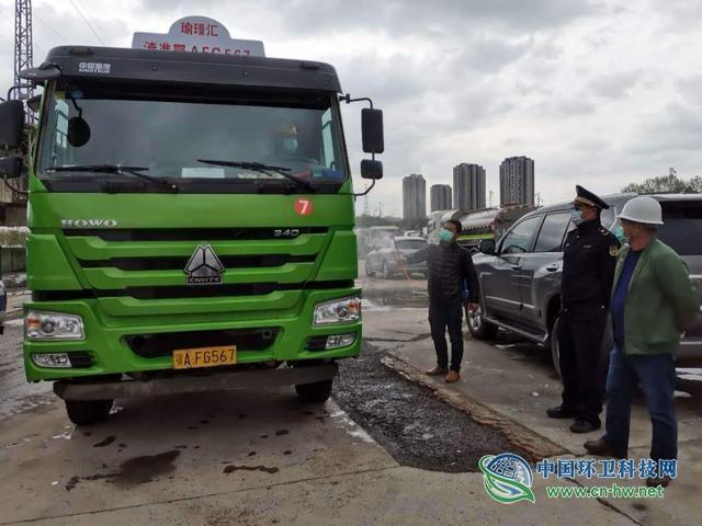 武汉市45家建筑垃圾运输企业迎接复工大考