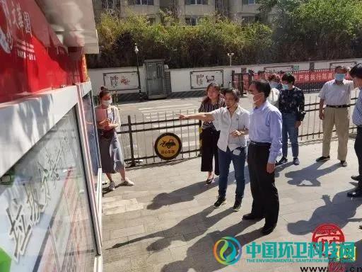 济南市城管局局长王道忠带队调研督导垃圾分类推进工作