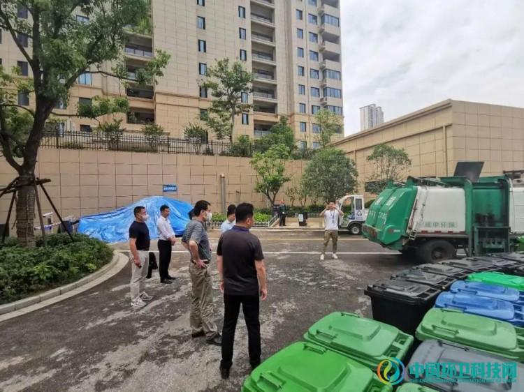 安徽省住建厅考察调研铜陵市生活垃圾分类工作