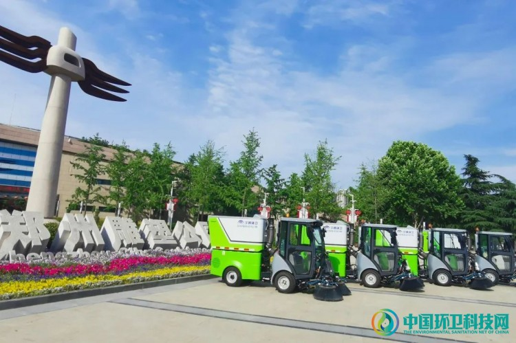 """""""绿色小蜜蜂""""上岗郑州各大公园,快速提升精细化作业水平"""