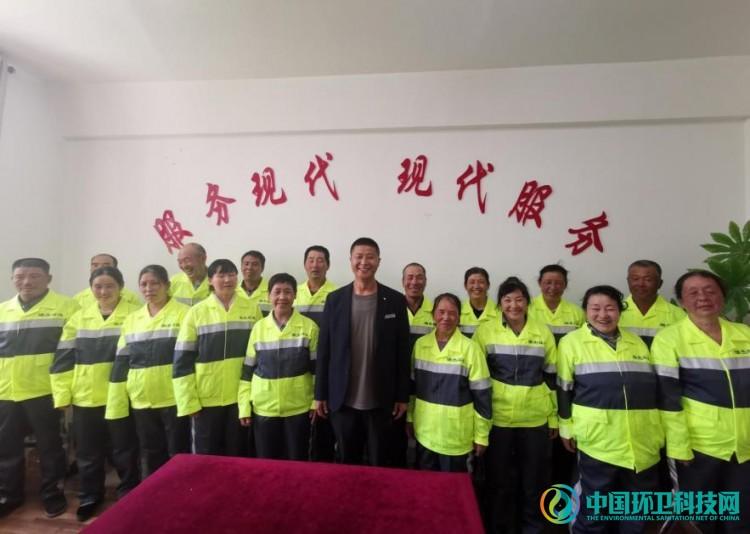 青海瑞杰环境:环卫工人换新装、守初心、担使命