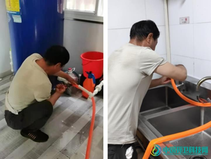 移动公厕重新开放,许昌环卫全力做好高考保障