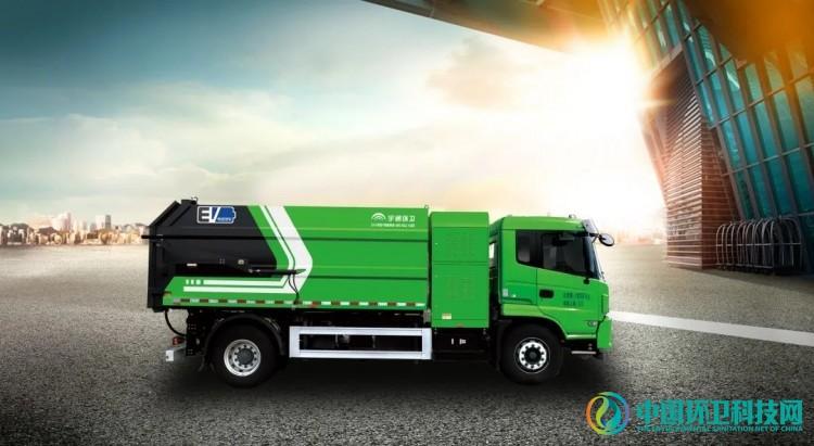 """城市垃圾""""终结者"""",宇通环卫18t纯电动自卸式垃圾车重磅亮相!"""