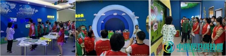 江西宜春:明月山风景区党员引领垃圾分类新风尚