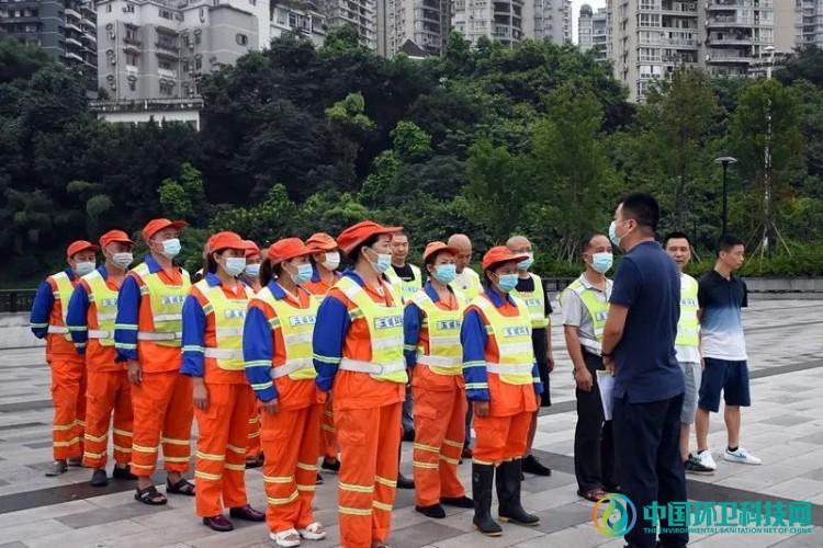 广西梧州市万秀区代表团莅临玉诚环境重庆分公司参观考察