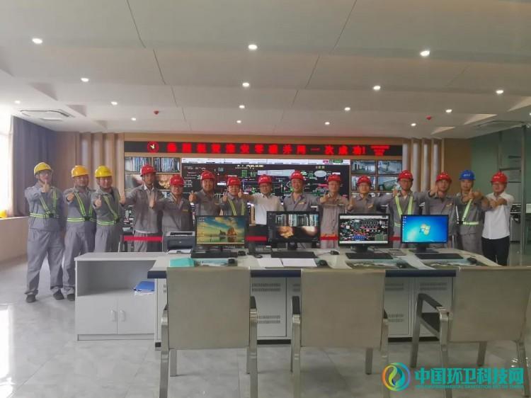 """淮安市涟水县垃圾发电项目并网发电一次成功!迈出""""全量焚烧""""关键一步"""