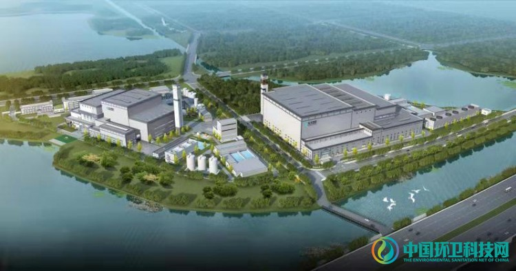 苏州吴江3×1000t/d垃圾焚烧发电项目锅炉第一吊圆满成功