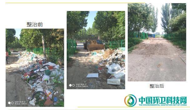 聊城市环卫处死角垃圾专项整治见成效