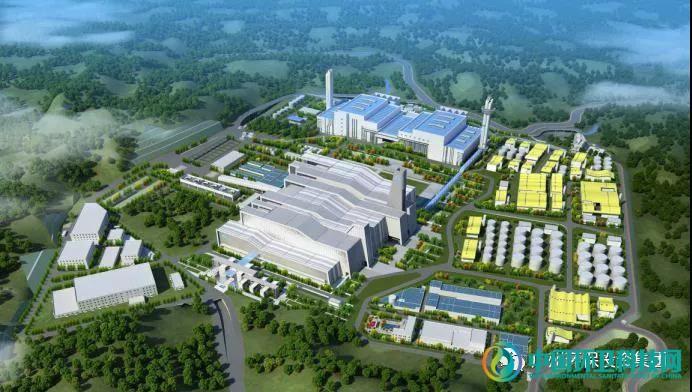 广州福山循环经济产业园二期生活垃圾焚烧项目安装工程顺利开工