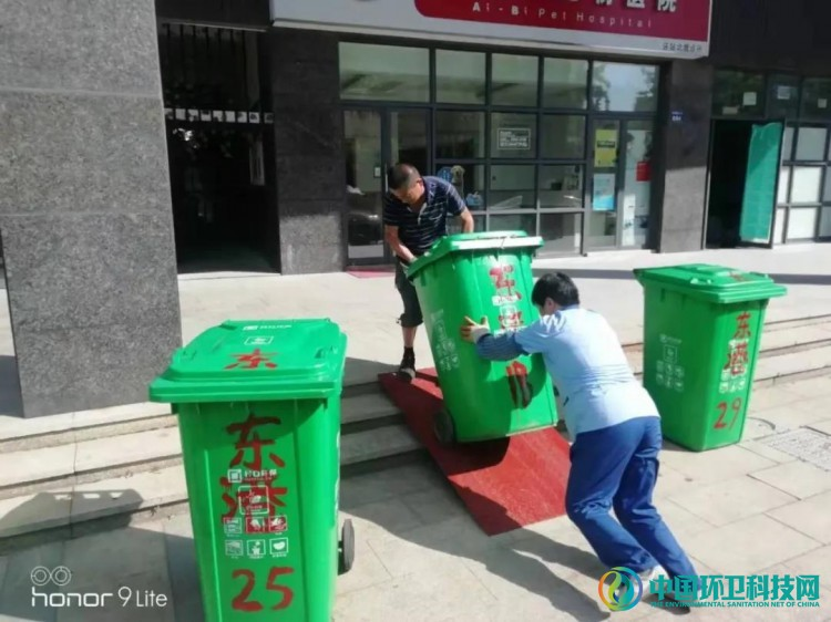 """杭州市江干区创新""""桶长制"""",实现垃圾分类全民参与、共建共享!"""