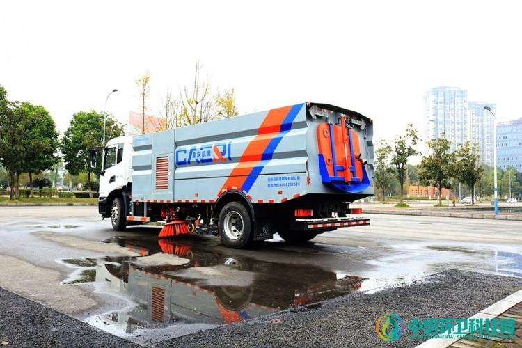 科技引领|重庆凯瑞智能语音控制洗扫车上市啦!