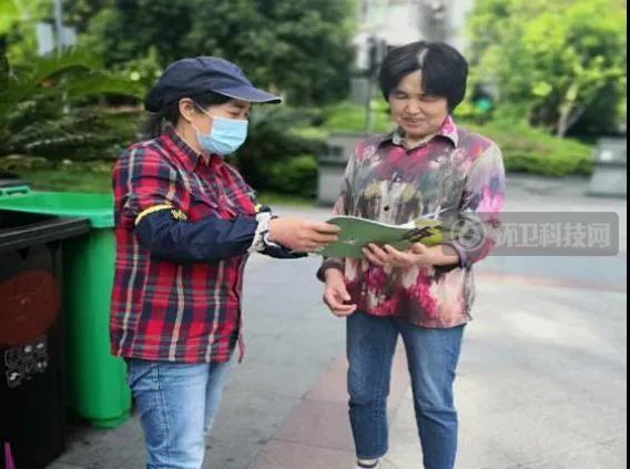 宁波垃圾分类督导员就地过年,物业送上新年健康大礼包