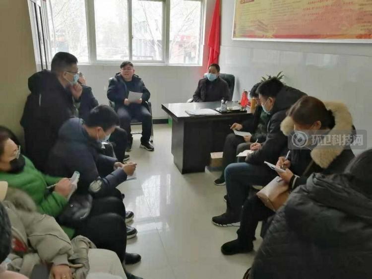 河南省许昌市环卫处清洁队安排部署近期工作