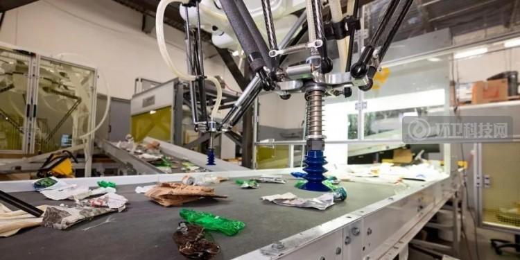 AMP垃圾分类机器人:每分钟分拣80件垃圾, 速度是人工的两倍!