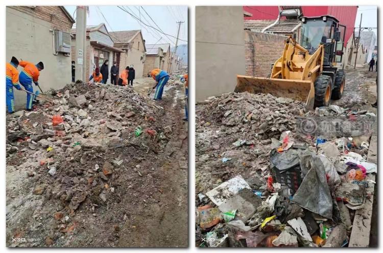 河北怀来:住建局环卫处积极开展卫生集中大清理活动