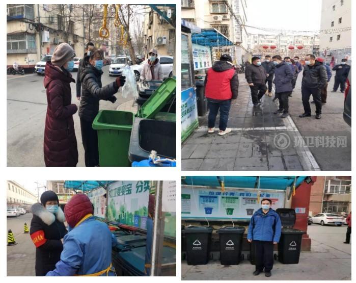 """北京果园街道:垃圾分类""""不打烊"""",站长周末""""守桶""""忙!"""