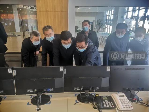 山西省副省长韦韬视察太原市循环经济环卫产业示范基地