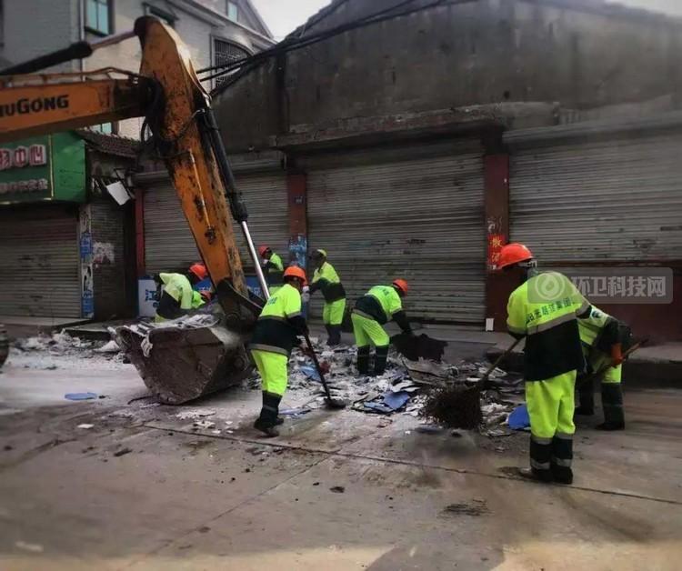 阳光朗洁助力灾后重建工作