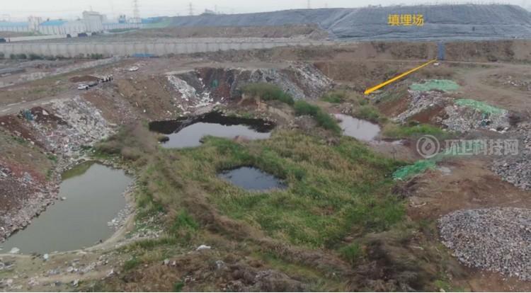 新乡市垃圾填满场南侧三处坑塘
